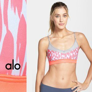 Alo Yoga Tidal Flow Sports Bra Size Large